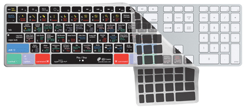 KB Covers Clearskin/for Logic Pro/Apple Ultra-Thin Aluminium Keyboard/BC【LOG-AK-CC】【US配列】