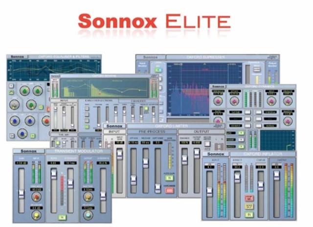 Sonnox/Elite Native (7 Oxford Plug-ins)【数量限定キャンペーン】【オンライン納品】【在庫あり】【定番】【1709R3】