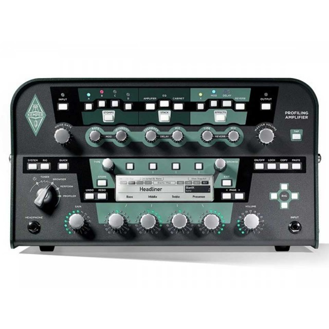 Kemper/Profiling Amplifier Power Head Black【在庫あり】