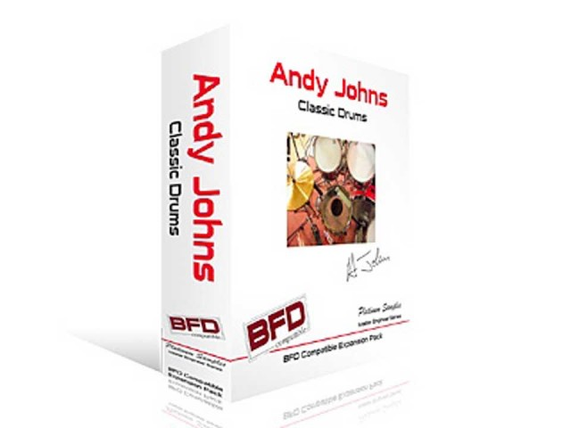 Platinum Samples/Andy Johns Classic Drums for BFD【BFD拡張音源】【fxpansion】