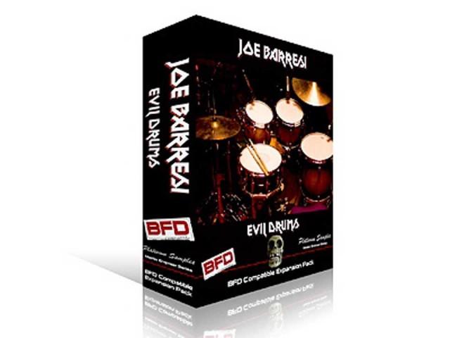 Platinum Samples/Joe Barresi Evil Drums for BFD【BFD拡張音源】【fxpansion】
