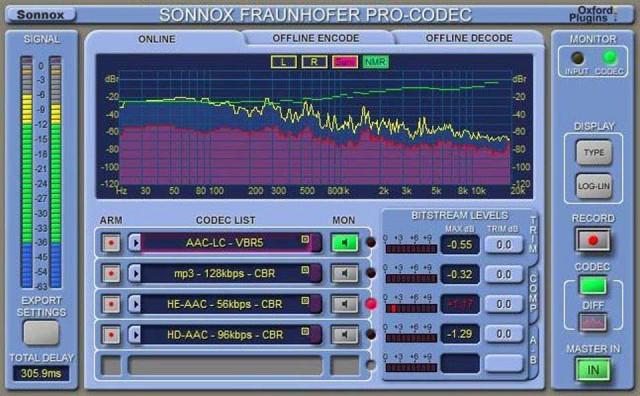 Sonnox/Fraunhofer Pro-Codec (Native)【オンライン納品】