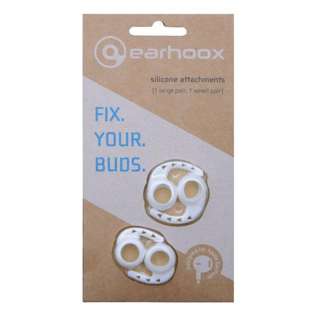 Earhoox/Earhoox 2.0 for EarPods White【スタッフレビュー掲載商品】【YAXI】【在庫あり】