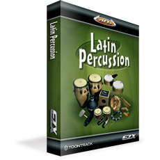 TOONTRACK/EZX LATIN PERCUSSION