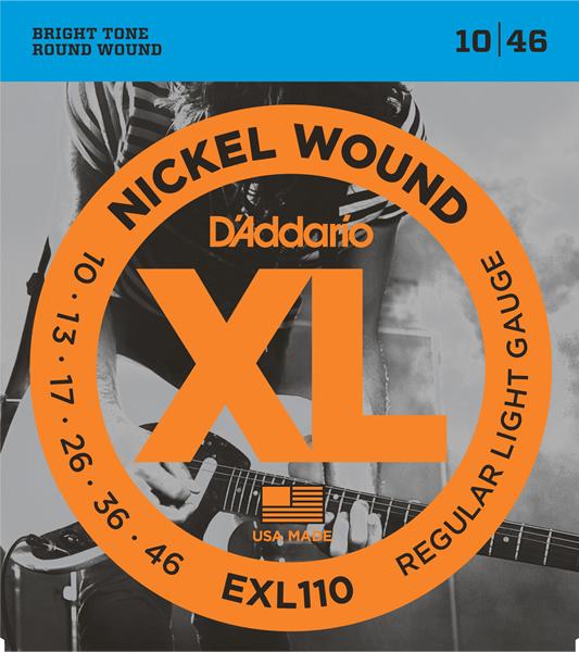 D'Addario/EXL110 エレキギター弦 010~046【ダダリオ】【在庫あり】
