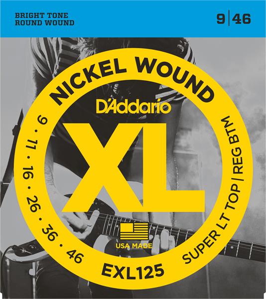D'Addario/EXL125 エレキギター弦 009~046【ダダリオ】【在庫あり】