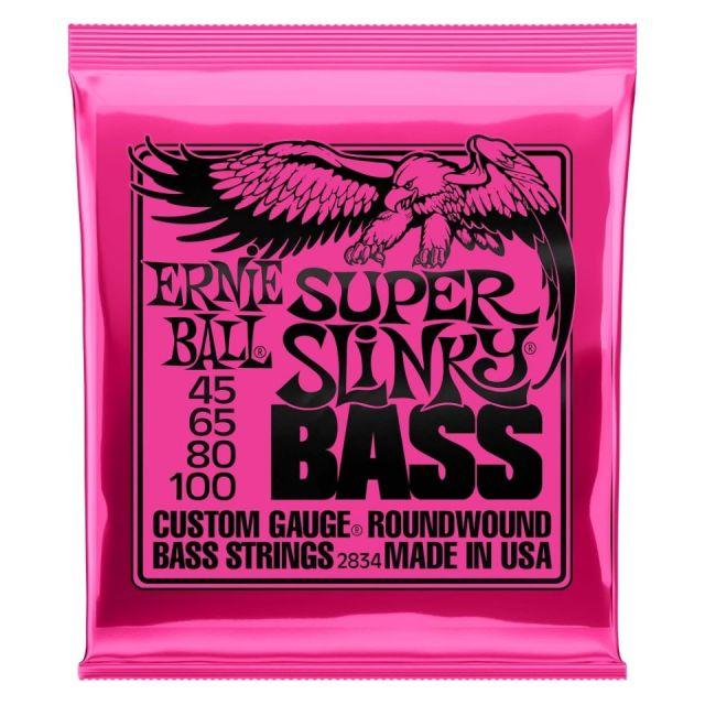 ERNIE BALL/2834 BASS SUPER SLINKY 045-100 エレキベース弦【アーニーボール】【在庫あり】
