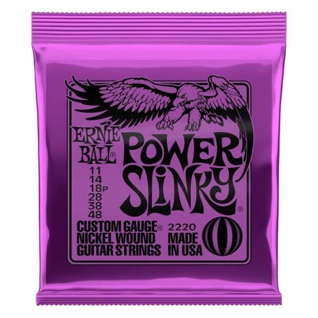 ERNIE BALL/2220 POWER SLINKY 011-048 エレキギター弦【アーニーボール】【在庫あり】