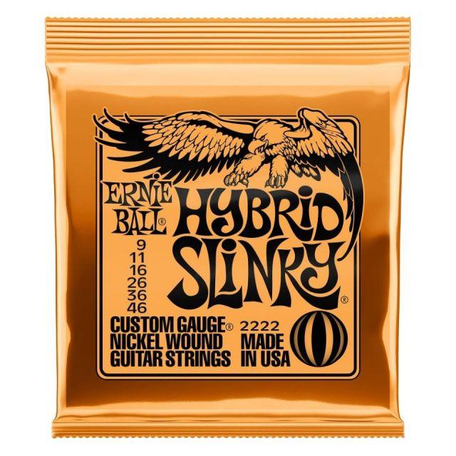 ERNIE BALL/2222 HYBRID SLINKY 009-046 エレキギター弦【アーニーボール】【在庫あり】