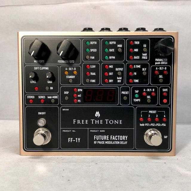 Free The Tone/FUTURE FACTORY FF-1Y【お取り寄せ商品】