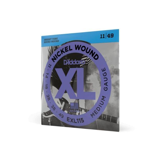 D'Addario/EXL115 Blues/Jazz Rock エレキギター弦  011-049 【ダダリオ】【在庫あり】