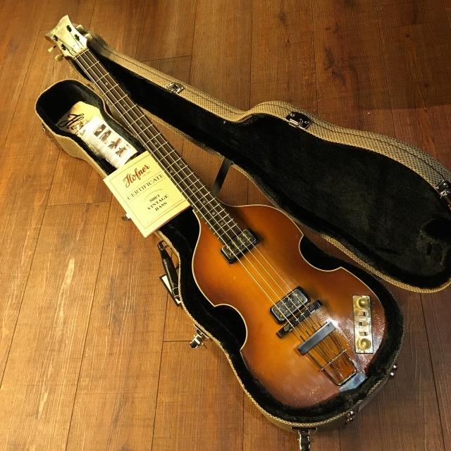 Hofner/500/1 Relic 63 Violin Bass #004
