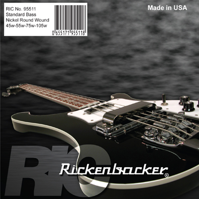 Rickenbacker/95511 B45105 ベース弦【在庫あり】