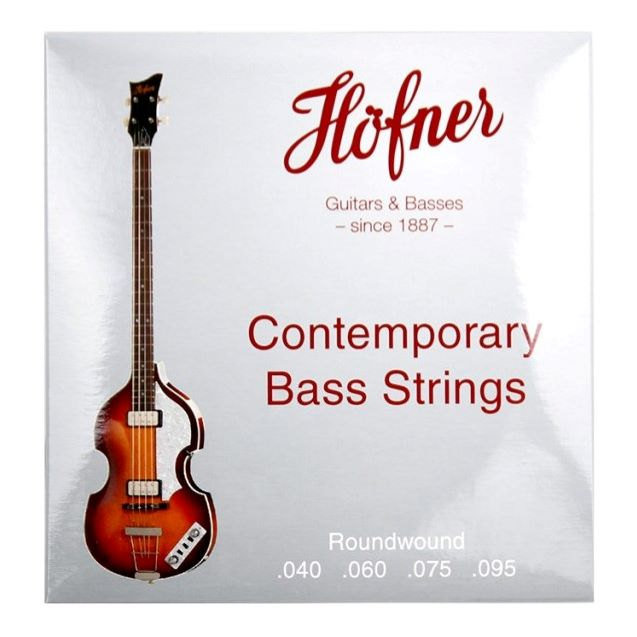 Hofner/1133R Contemporary Violin Bass Strings Round Wound【ラウンド弦】【お取り寄せ商品】