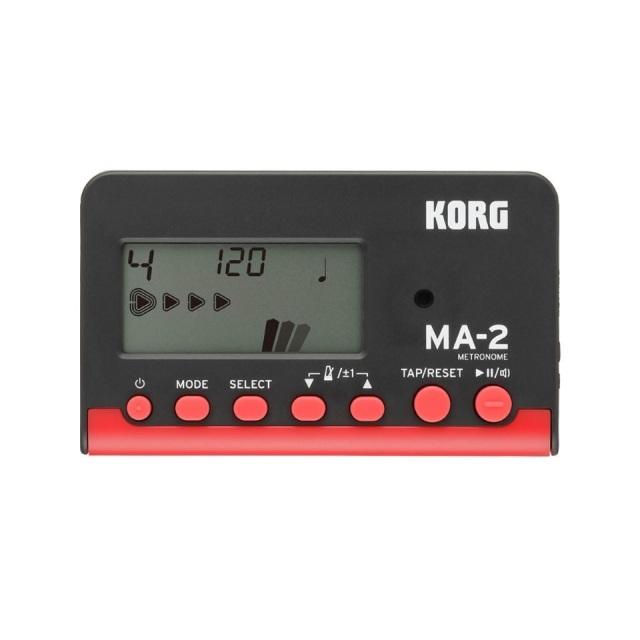 KORG/MA-2 ブラック レッド【MA-2-BKRD】【在庫あり】