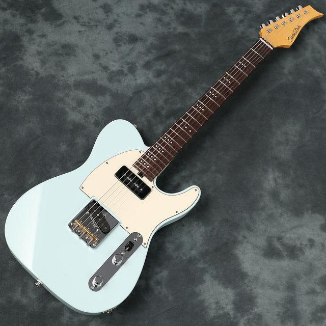 Three Dots Guitars/T Model (Ash Blue/ Rose) #306