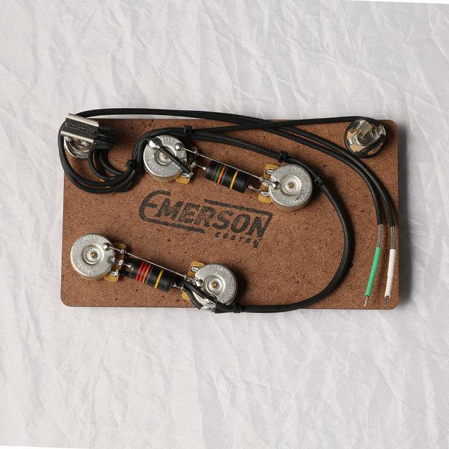 Emerson Custom/ES-335 PREWIRED KIT (500K Pots, 0.022uf & 0.015uf Bumblebee Capacitors)【エマーソン】【お取り寄せ商品】