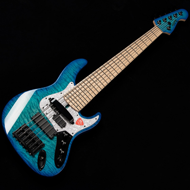 ATELIER Z/Beta 6 Cutstom Plus (Marie Blue Burst / Black Line Matching Head)