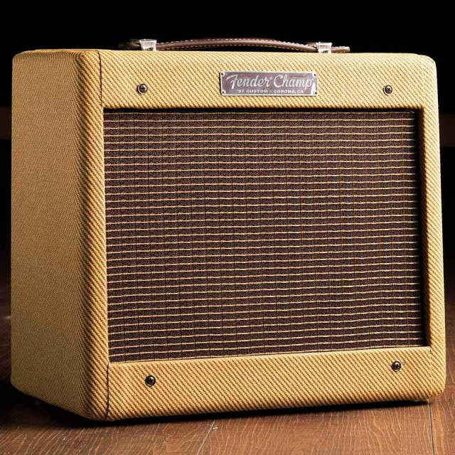 Fender/'57 CUSTOM CHAMP (Tweed Lacquer/Hand Wired)【チャンプ】【在庫あり】