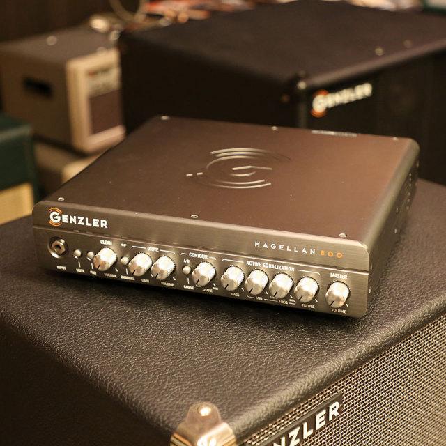 GENZLER/MAGELLAN 800 ベース ヘッドアンプ デモ機展示中!!【お取り寄せ商品】