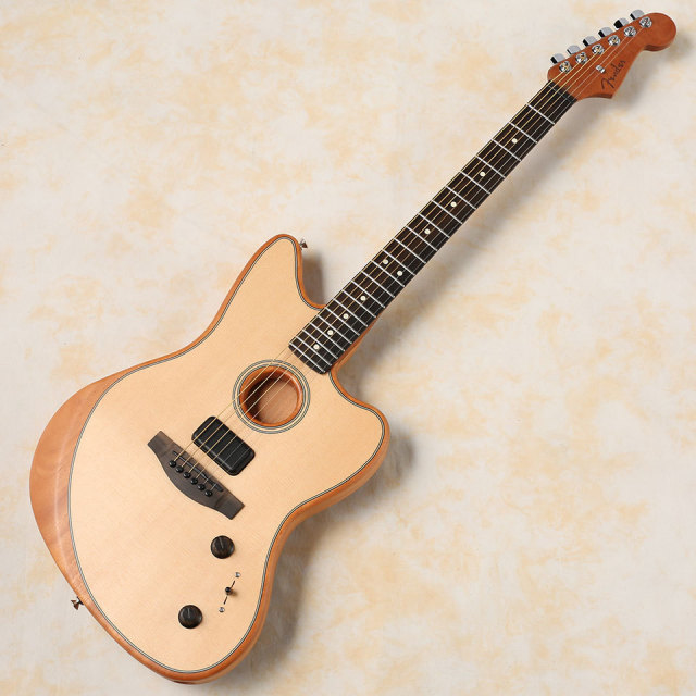 Fender/American Acoustasonic Jazzmaster (Natural)【お取り寄せ商品】