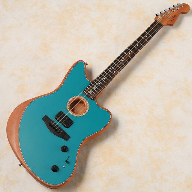 Fender/American Acoustasonic Jazzmaster (Ocean Turquoise)【送料無料】【お取り寄せ商品】
