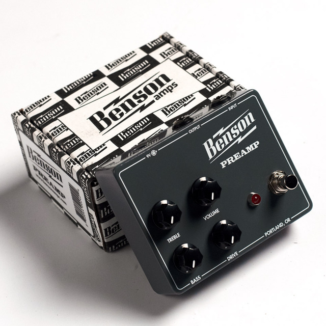 Benson Amps/PREAMP PEDAL【在庫あり】