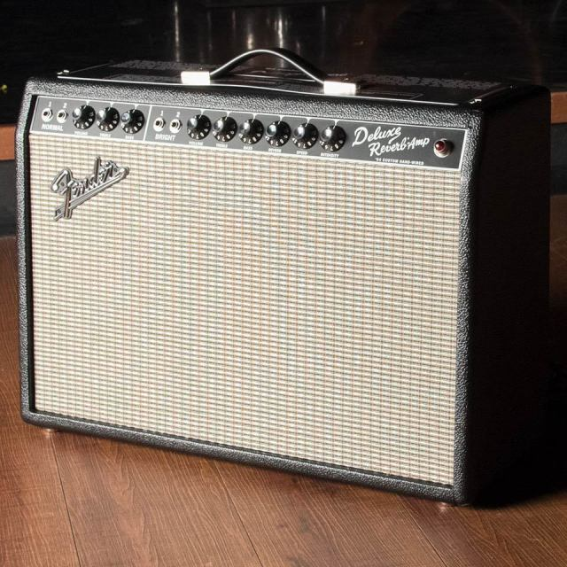 Fender/'64 Custom Deluxe Reverb (Black/Hand Wired)【お取り寄せ商品】