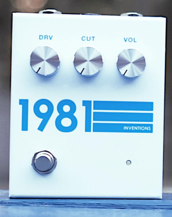 1981 Inventions/DRV Blue