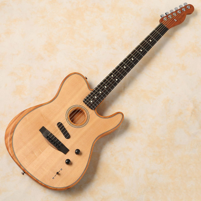 Fender/American Acoustasonic Telecaster (Natural) 【在庫あり 即納可能 送料無料】