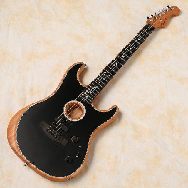 Fender/American Acoustasonic Stratocaster (Black)