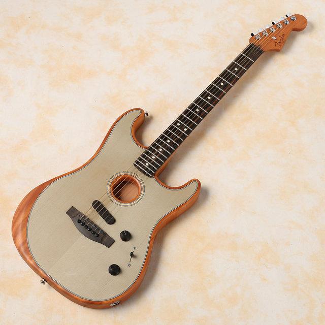 Fender/American Acoustasonic Stratocaster (Transparent Sonic Blue)【在庫あり】【送料無料】