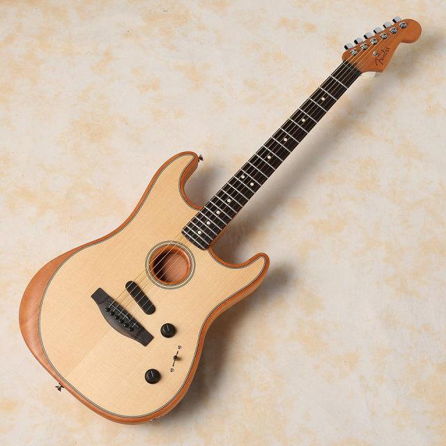 Fender/American Acoustasonic Stratocaster (Natural)【在庫あり 即納可能 送料無料】