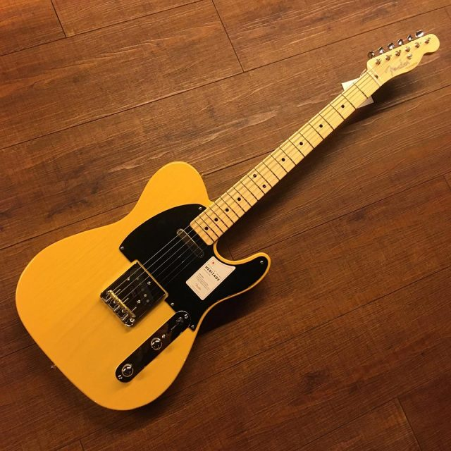Fender/Made in Japan Heritage 50s Telecaster BTB (Butterscotch Blonde)