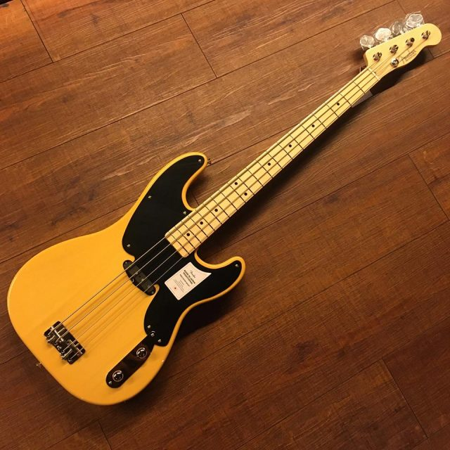 Fender/Made in Japan Traditional Original 50s Precision Bass (Butterscotch Blonde)【お取り寄せ商品】