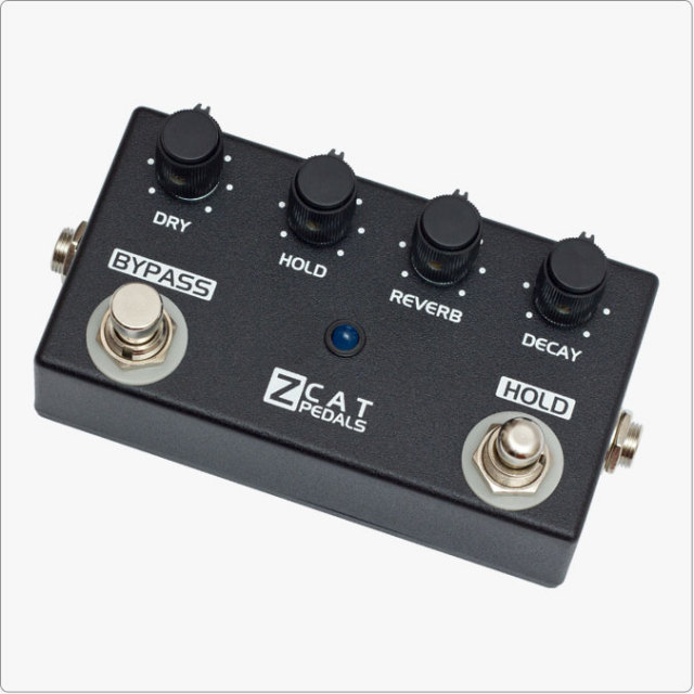 ZCAT Pedals/Hold-Reverb【お取り寄せ商品】