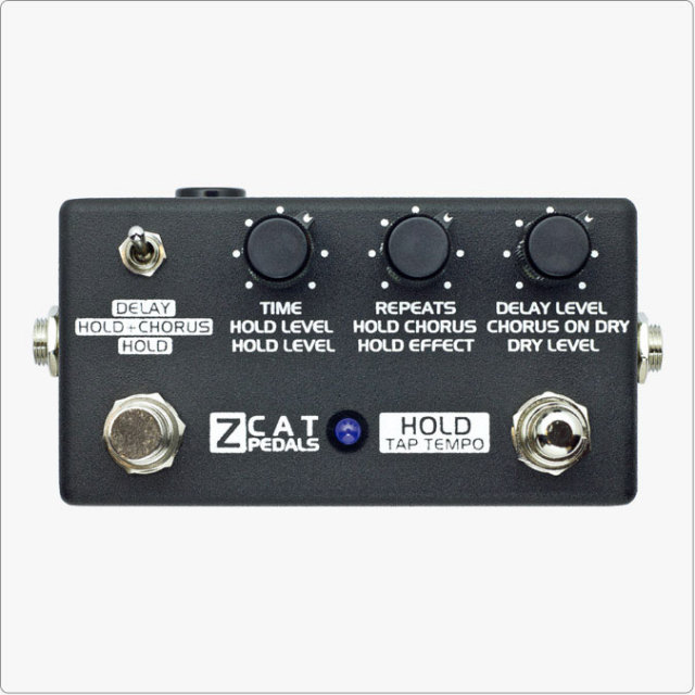 ZCAT Pedals/Hold-Delay-Chorus【お取り寄せ商品】