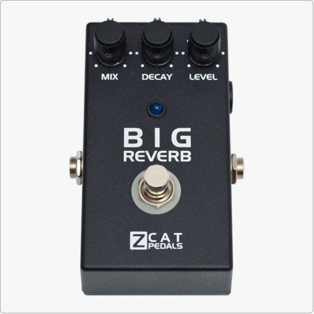 ZCAT Pedals/Big Reverb TI【お取り寄せ商品】