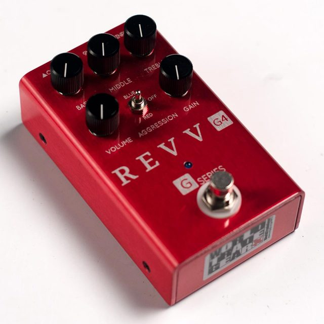 REVV Amplification/G4 PEDAL【再入荷!】