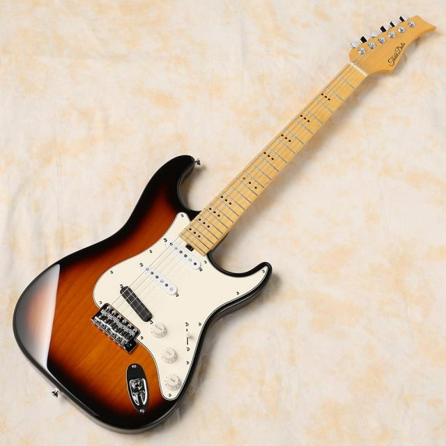 Three Dots Guitars/S (3 Tone Sunburst / Maple)