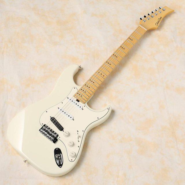 Three Dots Guitars/S (Olympic White / Maple)