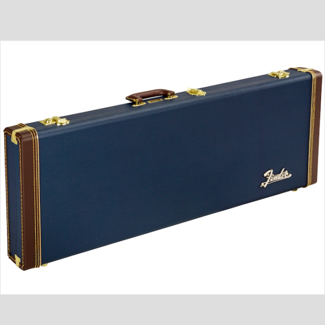 Fender/CLASSIC SERIES WOOD CASE STRAT/TELE (NAVY BLUE)