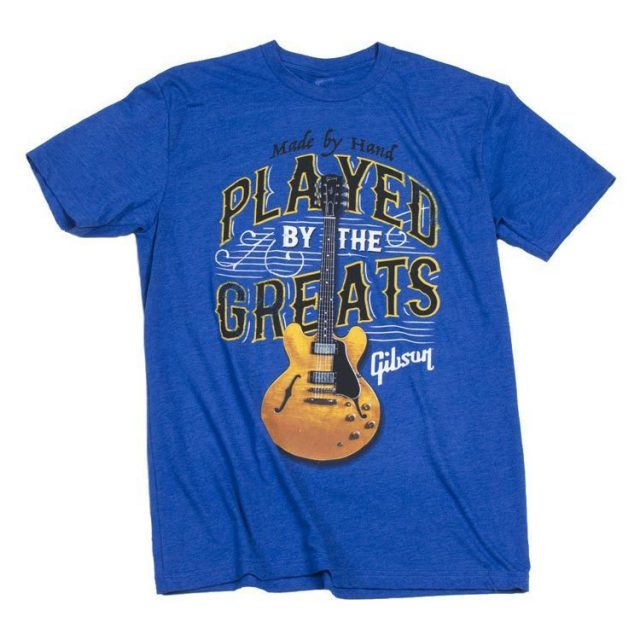 Gibson/Played By the Greats T-Shirt【S】
