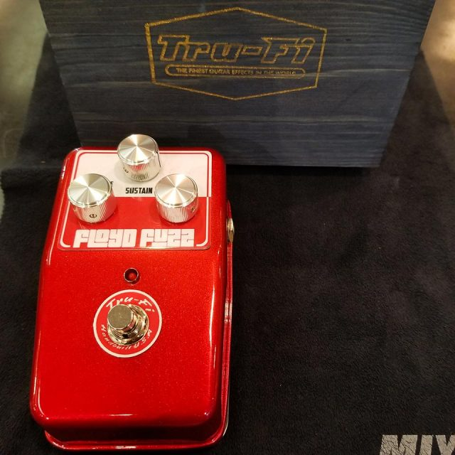 Tru-Fi/Floyd Fuzz RAMs HEAD Candy Apple Red【数量限定!フットスイッチハットプレゼント!】