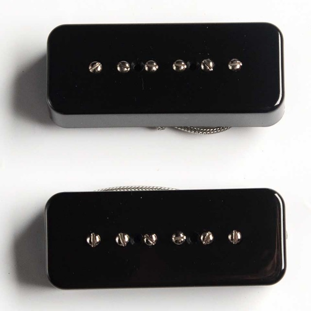 LOLLAR PICKUPS/P-90 SOAP BAR Standard / BLACK / SET【在庫あり】