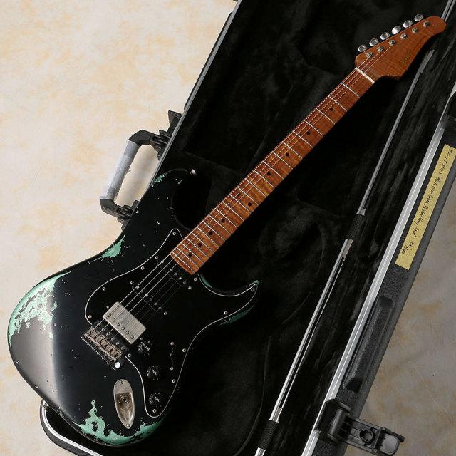 Xotic/XSC-2 ( Heavy Aged / Black Over Green Paisley ) Ash / Maple Fingerbord