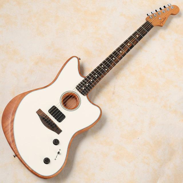 Fender/American Acoustasonic Jazzmaster (Arctic White)【在庫あり 即納可】