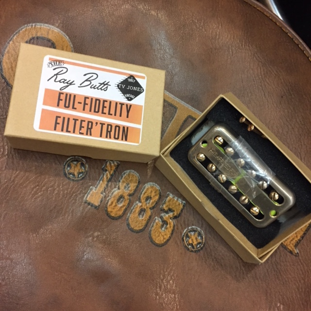 TV JONES/The Ray Butts Ful-Fidelity Filter'Tron 1959 PAF (Gold Aged) Set【グレッチ】【フィルタートロン】【ピックアップ セット】【在庫あり】