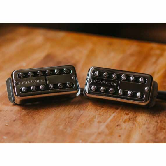 TV JONES/The Ray Butts Ful-Fidelity Filter'Tron 1959 PAF (Chrome) Set【フィルタートロン】【ピックアップ セット】【在庫あり】【新品特価】