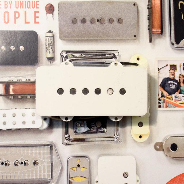 Curtis Novak Pickups/JM-V Neck / Parchment Cover 【ジャズマスター】【在庫あり】